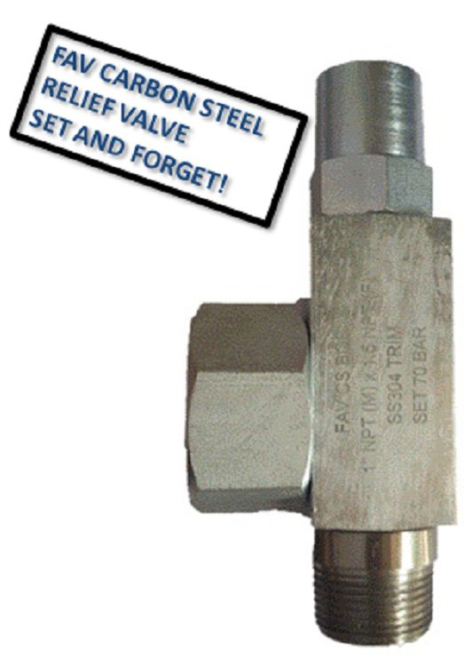 Carbon Steel Pressure Relief Valve