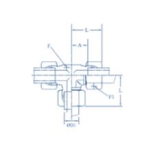 Hydraulic Union Tee