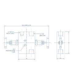 2 Way Manifold with Plug