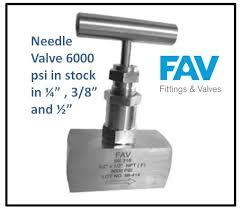 Needle Valve Stock