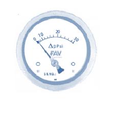 Pressure Gauge Differential Diaphgram Operated
