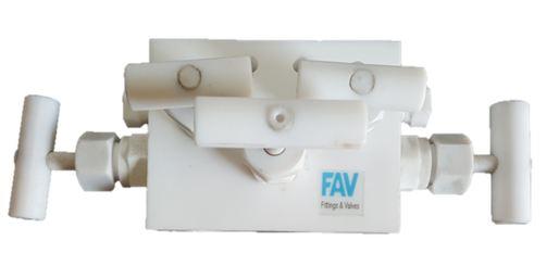 PTFE Manifold Valves Teflon