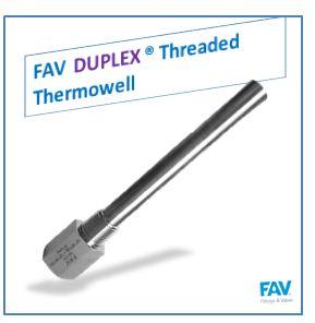 Duplex Threaded Thermowell