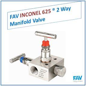 FAV Inconel 2 Way Manifold Valve