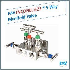 FAV Inconel 5 Way Manifold Valve