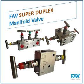 FAV Super Duplex Manifold Valve