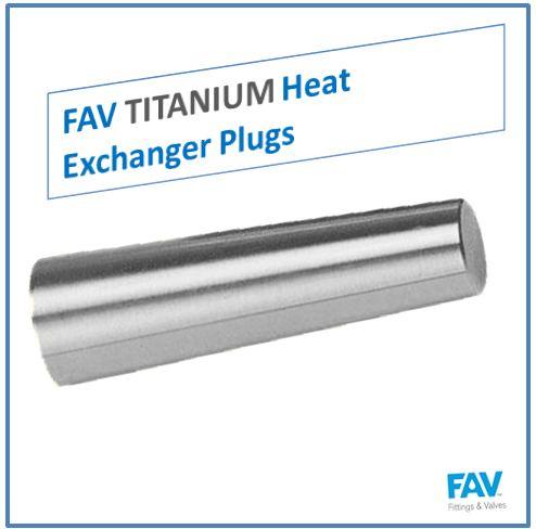 Titanium Heat Exchanger Plugs