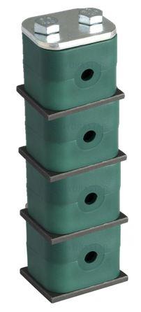 Multi Level Heavy Series Single Hole clamps
