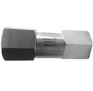 High Pressure Check Valve 10000 PSI