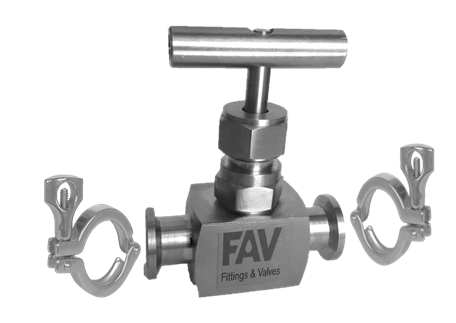 Clamp Sanitary Needle Valve