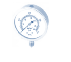Pressure Gauge All SS Compact Case