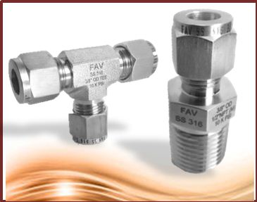 Double Ferrule Compression Tube Fittings