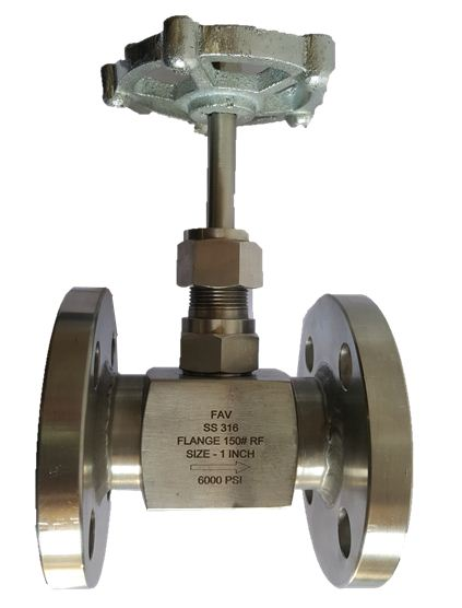 Flanged Needle Valve With Handwheel Can Totally Customized