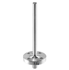 Flange Thermowell Straight-Bar Stock