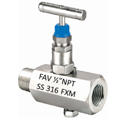 Hex Needle Valve Vent Type
