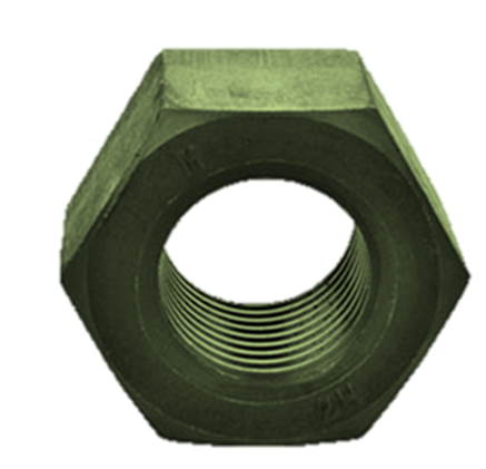 PTFE Coated Nut  Green Color