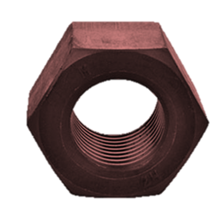 PTFE Coated Nut Red  Color
