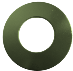 PTFE Coated Washer Green Color