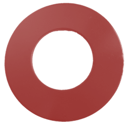 PTFE Coated Washer Red Color