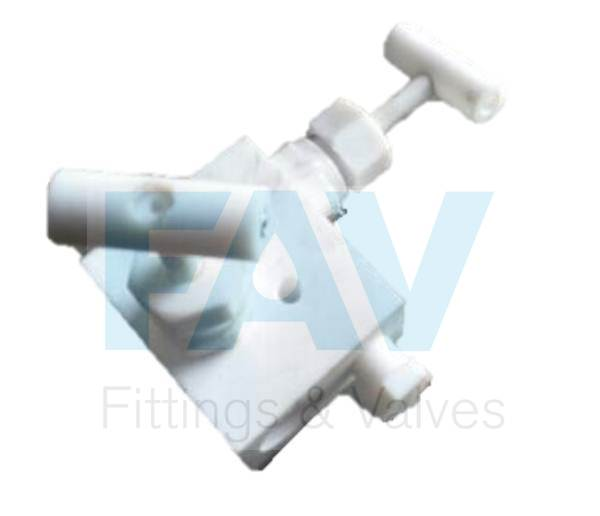 PTFE Manifold Valves 2 Way