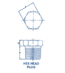 Pipe Fitting Square hex