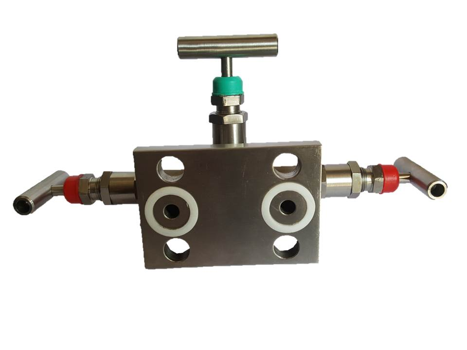 Manifold Valve ,T Type, Flange, 3 Way