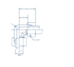 Hydraulic Union Elbow