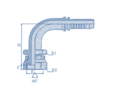 SS 316 Hose Fitting