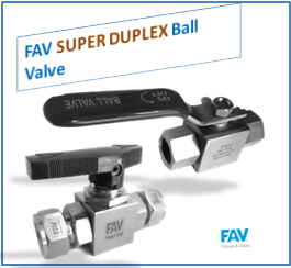 Super duplex ball valve