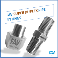 Super duplex pipe fitting