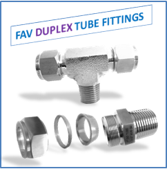 duplex tube fittings