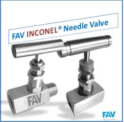 inconel needle valve