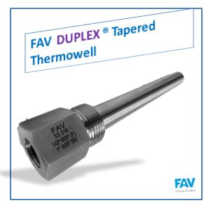 Duplex Tapered Thermowell