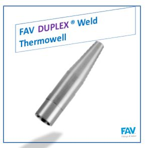 Duplex Weld Thermowell- Threaded, Tapered, Flanged