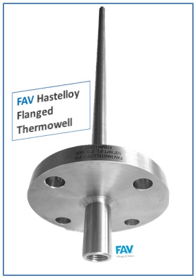 Hastelloy Flanged Thermowell