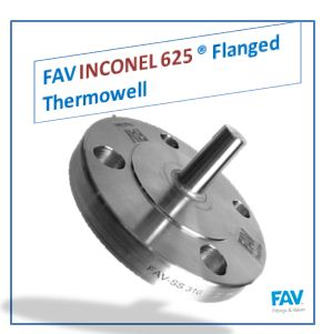 Inconel 625 Flanged Thermowell