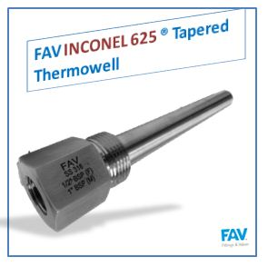 Inconel 625 Tapered Thermowell