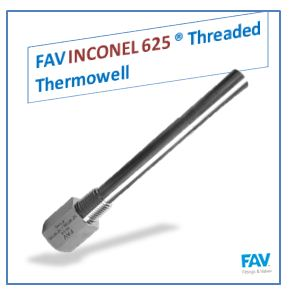Inconel 625 Threaded Thermowell