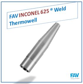 Inconel 625 Weld Thermowell