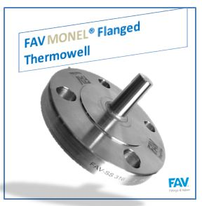 Monel Flanged Thermowell