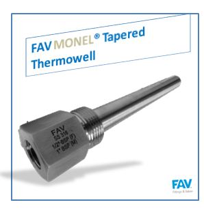 Monel Tapered Thermowell