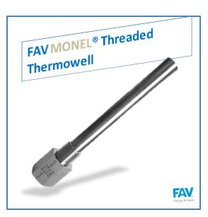 Monel Threaded Thermowell