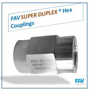 Super Duplex Couplings