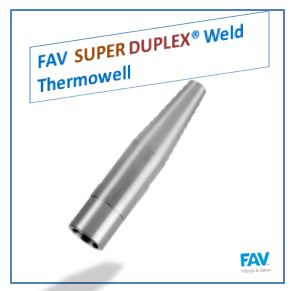 Super Duplex Weld Thermowell