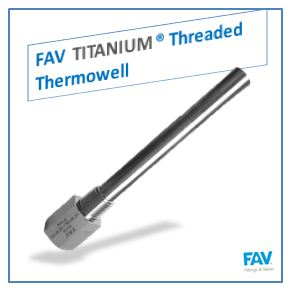 Titanium Thermowell -Flanged, Threaded, Socket Weld