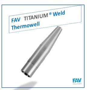 Titanium Weld Thermowell