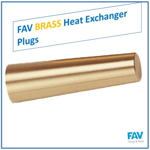 FAV Brass Heat Exchanger Plugs