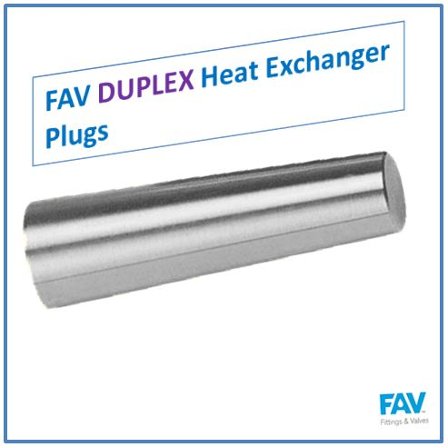 Duplex Heat Exchanger Plugs