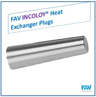 Hastelloy Heat Exchanger Plugs