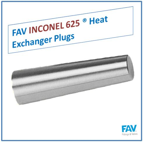 Inconel 625 Heat Exchanger Plugs